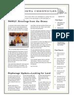 Orwas Newsletter September 2013