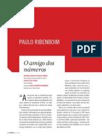Paulo Ribenboim, o amigo dos números.