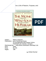 Review of the Monk Who Sold His Ferrari