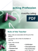 The Teaching Profession