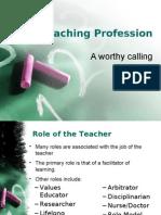 The Teaching Profession