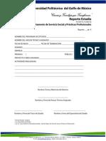 Reporte de Estadia PR-SSPP-01-F10 REV 00