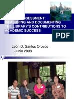 Library Assessment FRN 2008