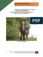 Los efectos de la miner+¡a Peruana en el desarrollo rural MODIFICADO