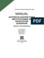 1-Manual Autoevaluación para Instituciones de Educación Superior