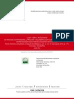 ESTRATEGIAS DE APRENDIZAJE, ¿PROCESOS EN CONSTRUCCIÓN- COMPARANDO EL DESEMPEÑO ESTRATÉGICO EN EDUCAC