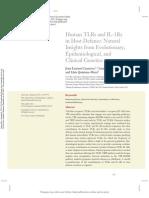 TLRs IL1R, epidemiología y genética clínica (2)