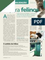 Entrevista para revista Cães e Gatos -Só para Felinos