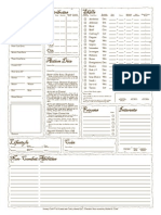 Fantasy Craft Variant Sheet B&W v1.5 Fillable