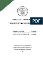 Chemistry of Aluminium