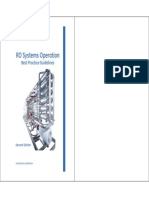 RO Systems Operationc - Best Practice Guidelines