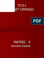 Materi 04 - Program Dinamik