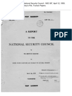 A Report to the National Security Council (NSC 68, 1950) Copy No. 1, uploaded by Richard J. Campbell