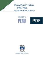 Lecciones aprendidas Fenomeno El Niño 97-98  CAF 2000