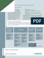 Distribuidores Industria y Solution Partners Siemens Perú