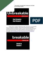 RAC Not Unbreakable