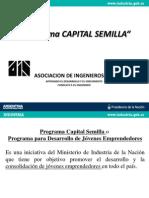 PPT Presentacion Capital Semilla 010713