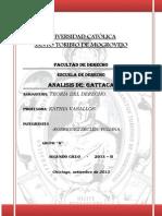 Analisis de Gattaca