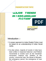 Major Trends in Indo Anglian Fiction by N Jayappa