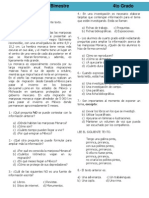 4to Grado - Bimestre 1 (2012-2013)