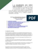 Técnicas y procedimientos a.c