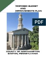 2014 Northampton County Proposed Budget