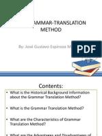 The Grammar-translation Method