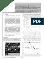 Characterization of Nanofiltration Membranes