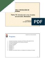 TEMA10 IntroduccionSecuenciales Dos