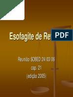 Esofagite_refluxo - Sobed 2005