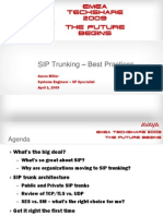 SIP Trunking Best Practices