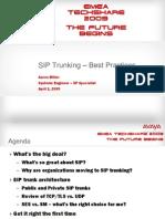 SIP Trunking Best Practices