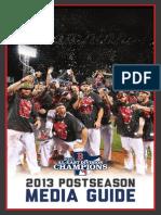2013 Red Sox Postseason Guide