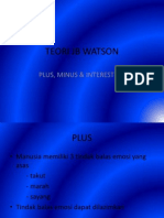 Teori Jb Watson