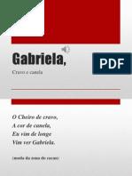 Gabriela,