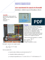 Verificação experimental da equação de Bernoulli (Prof. M