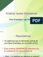 Analizar textos Dramáticos_Las Arañas