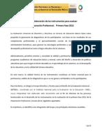 Diseño y Elaboración de los instrumentos para evaluar la preparación profesional