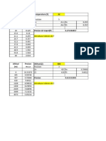 Interpolacion en Excel