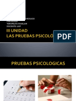 5ta. Clase de Pruebas Psicometricas