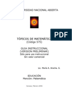 UNA Topicos Matematica A