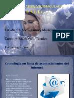 Cronologia en La Linea de Acontecimientos Del Internet