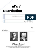 Student_s t Distribution