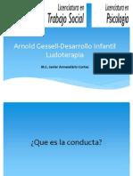Arnoldgessell Desarrolloinfantil Ludoterapia Javier 130820172556 Phpapp01