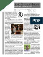 Hellenic Society News, Fall 2013
