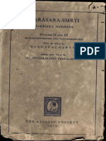 Parashar Smriti Parashar Madhav II - Asiatic Society