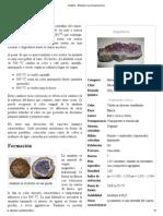 Amatista - Wikipedia, La Enciclopedia Libre