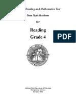 4th Grade Reading Comprehension 3