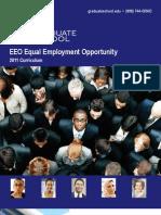 EEO Equal Employment Opportunity 2012 Curriculum Brochure