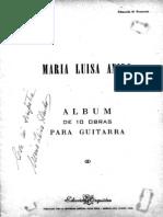 Maria Luisa Anido - Album de 10 Piezas